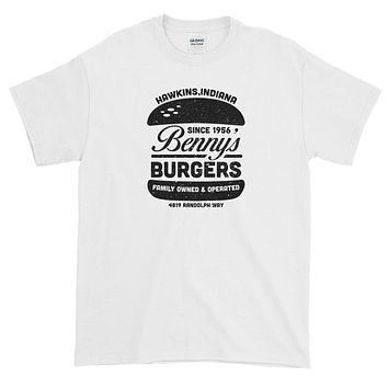 Stranger Things Bennys Burgers Short-Sleeve T-Shirt