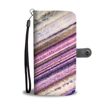 Agate Closeup Phone Wallet Case