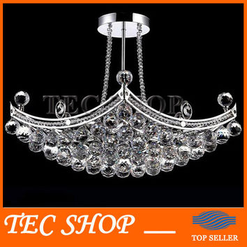Best Price Led K9 Crystal Chandeliers Crystal Fixture Hanging Lusters Lustres De Cristal Lustres E Pendentes Luxury Lamp
