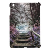 Fantasy Forest Steps iPad Mini Cases from Zazzle.com