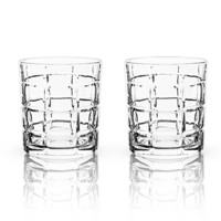 Admiral Highland Whisky Tumbler Glass Set (Set of 2)