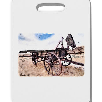 Antique Vehicle Thick Plastic Luggage Tag