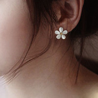 Flower Ear Stud Earrings