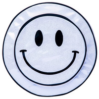 O Mighty Smiley From Acid Hologram Backpack Silver One