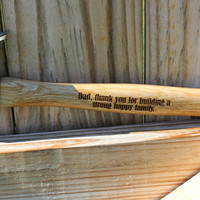 Father's Day gift,  Personalized Hammer, Engraved Hammer, Gift for Dad, Hammer, Gift for Husband, Custom Hammer, Tools, Fathers Day
