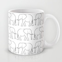 Elephants Mug by Jamie Danielle