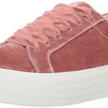 Lace up Velvet Fashion Sneaker Kenneth Cole New York Women's Abbey Platform