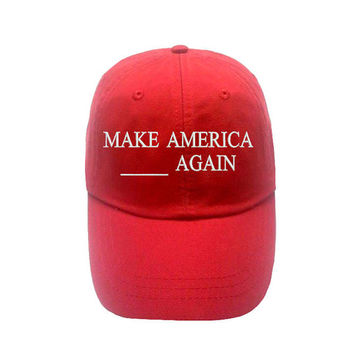 Make america great again custom trump hat - customized trump cap - make america blank again make america idk again make great Britain great