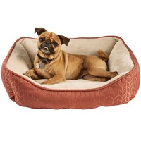 "Harmony Terracotta Nester Dog Bed, 24"" x 18"" 