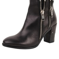 Formentini Double Zipper Bootie