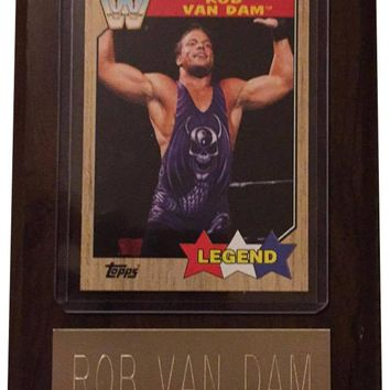 "Rob Van Dam RVD 4"" x 6"" WWE Legend Wrestling Plaque"