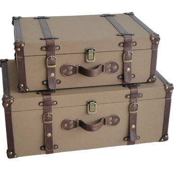 Screen Gems Valencia Canvas Suitcases