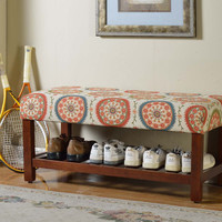 Multi Color Suzani Cocktail Bench