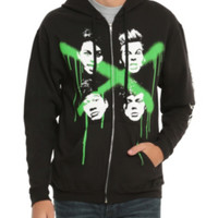 5 Seconds Of Summer Green X Hoodie