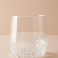 Textured Stemless Wine Glass