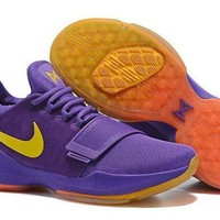 Nike Zoom Pg 1 Ep Laker Purple Basketball Shoes Us 7-12 - Beauty Ticks