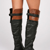 Double Buck Riding Boots - Knee High Boots at Pinkice.com
