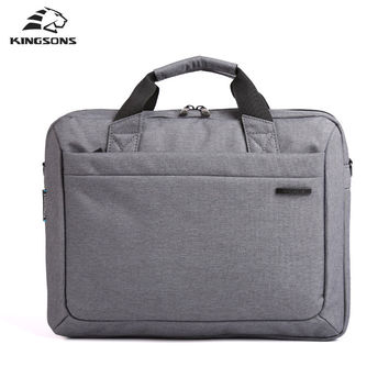 Waterproof  Notebook Computer Laptop Bag for Men Women Briefcase Shoulder Messenger Bag