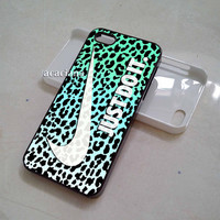 Just Do It on Leopard Skin - iPhone 5C Case, iPhone 5/5S Case, iPhone 4/4S Case, Samsung Galaxy S3, Samsung Galaxy S4