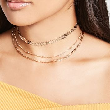 Chevron Choker Set