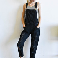 """So Over It"" Overalls"