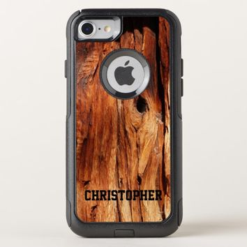Faux Weather Wood OtterBox Commuter iPhone 7