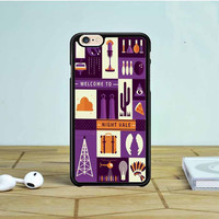 Welcome To Night Vale Collage iPhone 6 Case Dewantary