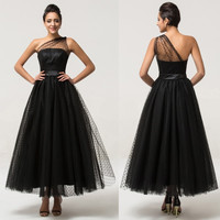 Grace Karin Tulle Prom Dress Masquerade Bridesmaid Wedding Formal Ball Gowns