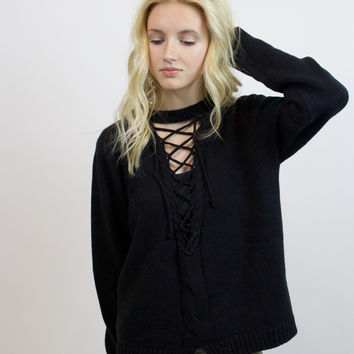 Loose Ends Sweater