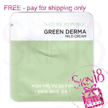 Freebies - Nature Republic Green Derma Milk Cream (Sample Pack)