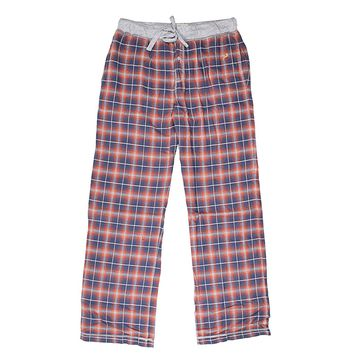 Crossroads Plaid Flannel Pant in Blue by True Grit