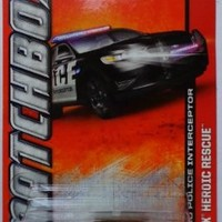 2013 Matchbox MBX Heroic Rescue - Ford Police Interceptor