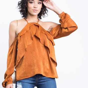 Nadia Ruffled Blouse