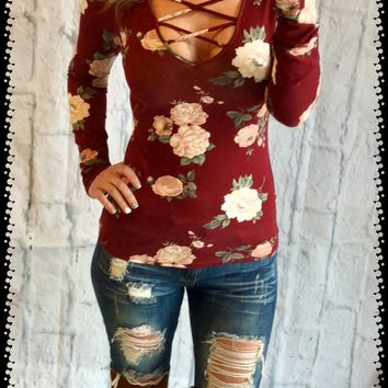 Every New Adventure Floral Top