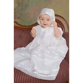 Charlotte - Lace Christening Gown