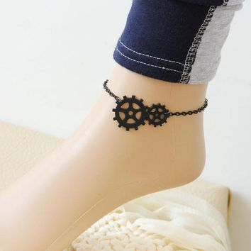 Womens New Steam Punk Jewelry Gothic Fresh Sweet Anklet