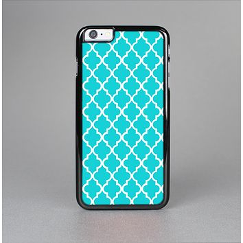 The Morocan Teal Pattern Skin-Sert Case for the Apple iPhone 6 Plus