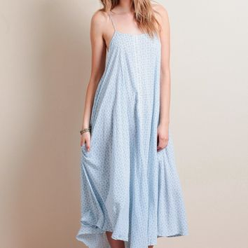 Moments Maxi Dress In Mumbay Print By Faithfull The Brand