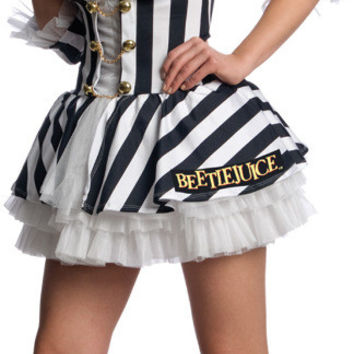 women's costume: beetlejuice sexy | large