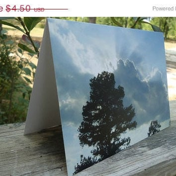 PRICE REDUCED CIJ From Above Blank Greeting Card