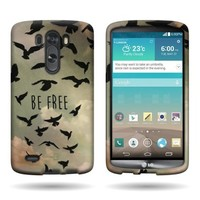 CoverON® Slim Hard Case for LG G3 (2014) with Cover Removal Tool - (Free Birds)