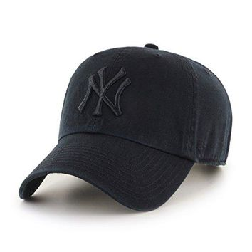 '47 Brand MLB New York Yankees Clean Up Cap - Black
