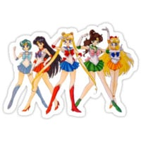 Sailor Scouts by Brittany Ketcham