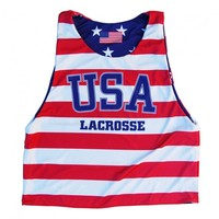 USA Lacrosse Sublimated Pinnie