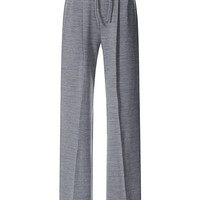 Grey Wool Jersey Drawstring Pants | Moda Operandi