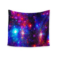 """Northern Lights Galaxy""  Endless Space Wall Tapestry"