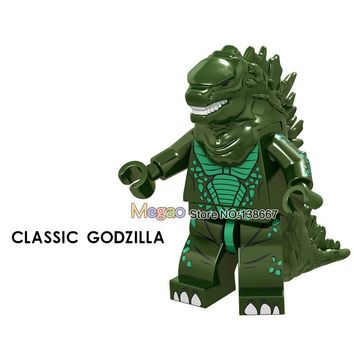 Single sale Building Blocks Classic Godzilla XL002 Lava The baby toys Collection Figure Toys to friends Briks Children Toys