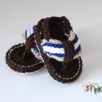 Baby Boy Flip Flop Sandals on Luulla