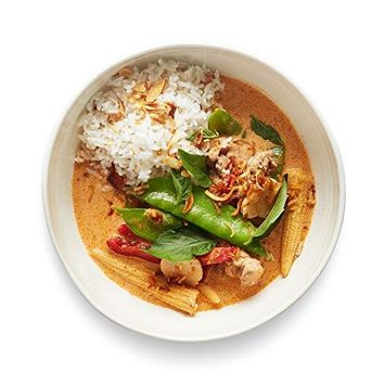 UpCube Meal Kits, Thai Red Curry with Chicken & Jasmine Rice, Serves 2