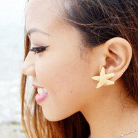 Sugar Starfish Stud Earring